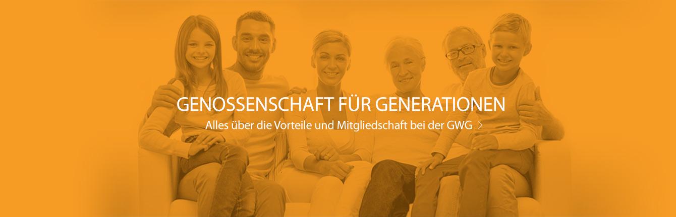 Genossenschaft für Generationen - Alles über die Vorteile und Mitgliedschaft bei der GWG